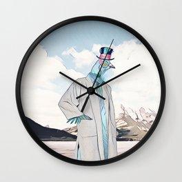 Mr. Pigeon Wall Clock