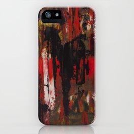 Trash Polka Abstract iPhone Case