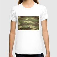 camo T-shirts featuring Dirty Camo by Bruce Stanfield