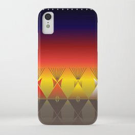 Night Tipi iPhone Case