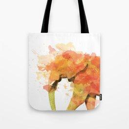 Positive elephant Tote Bag
