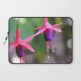 Fuchsia in the Rose Garden Laptop Sleeve
