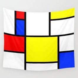 Mondrian1 Wall Tapestry