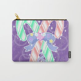 Candy Canes: Fairy Kei Version Carry-All Pouch