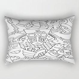 Beware Of Haters Rectangular Pillow