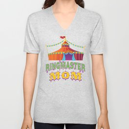 Ringmaster Mom Style2 Unisex V-Neck