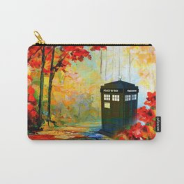 TARDIS PAINTING Carry-All Pouch