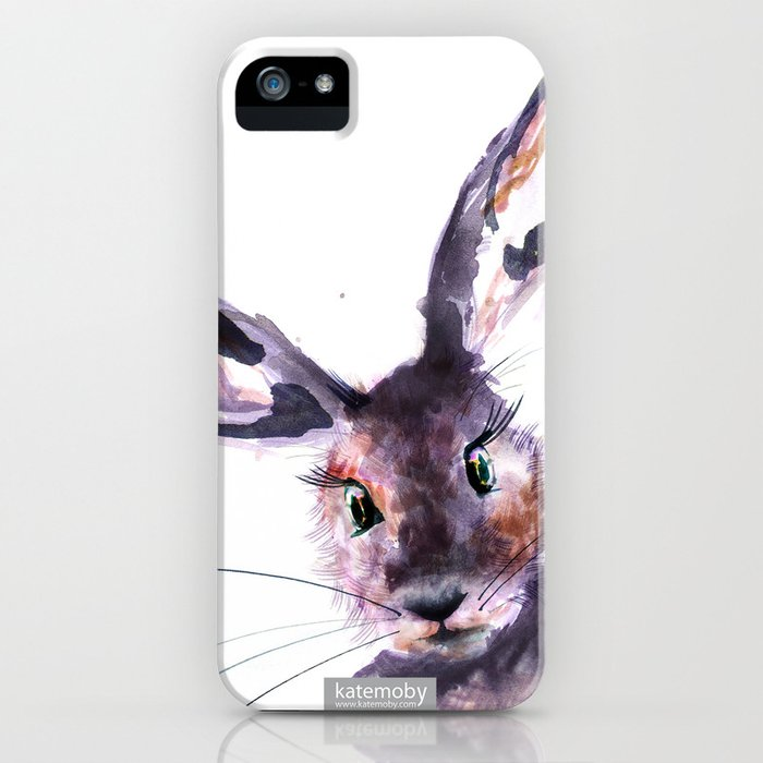 Inky Hare iPhone Case