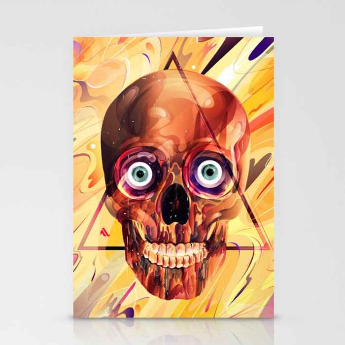 Deathzophrenia. Stationery Cards