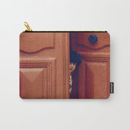 Girl in a Doorway Carry-All Pouch
