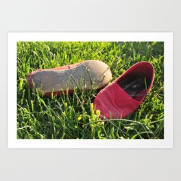 toms in the summer. Art Print