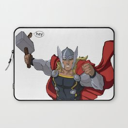 Thor and the Bird Laptop Sleeve
