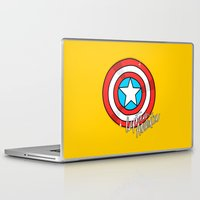 shield Laptop & iPad Skins featuring Shield by Chelsea Herrick