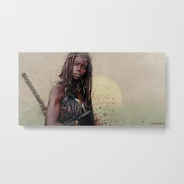 Michonne (the walking dead) Metal Print