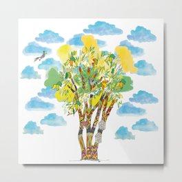 Mango Tree Metal Print