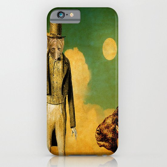 The wolf and the sheep iPhone & iPod Case
