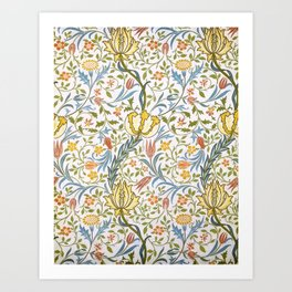 William Morris Flora Art Print