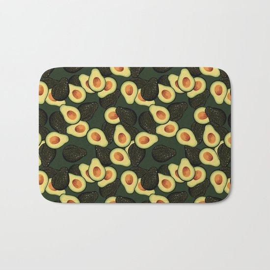 Avocado Pattern Bath Mat