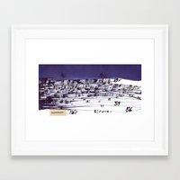 the strokes Framed Art Prints featuring strokes... by matzenbacher