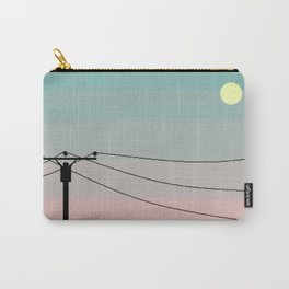 Coral Night Carry-All Pouch