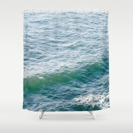 Make Waves Shower Curtain