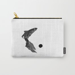 White out Carry-All Pouch