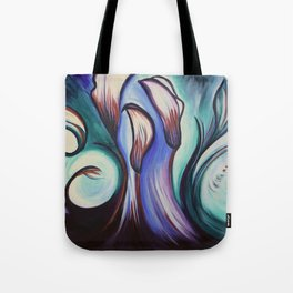 Lily Patch Tote Bag