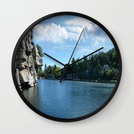 Mohonk Lake Wall Clock