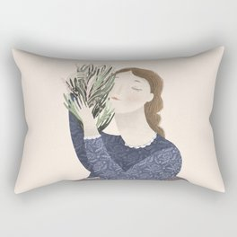 Love Garden Rectangular Pillow
