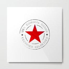 Red Star Original Metal Print