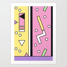 Geometric Calendar - Day 13 Art Print