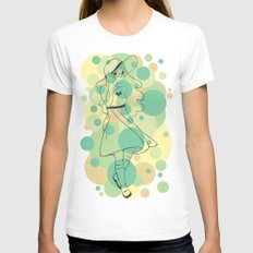Connie - Steven Universe Womens Fitted Tee White MEDIUM