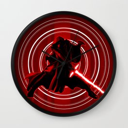 TFA - Red Knight Wall Clock