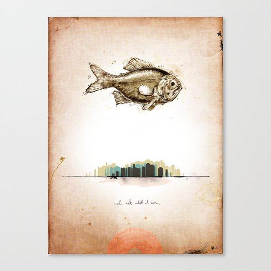 First Print... Canvas Print