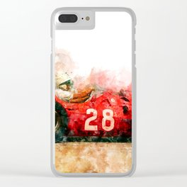 Stirling Moss Formula 1, 250F Clear iPhone Case