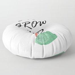 Never Grow Up - I Floor Pillow