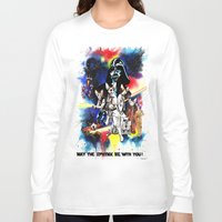 starwars Long Sleeve T-shirts featuring StarWars Sphynx by Psyca