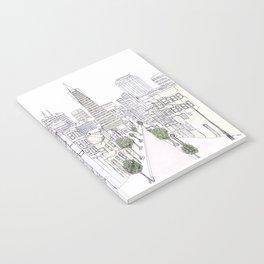 Pen + Ink SF City Scene Notebook