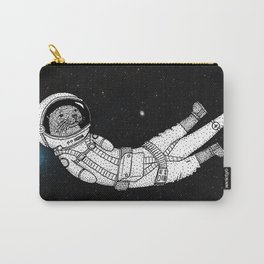 André Floating Around in Otter Space Carry-All Pouch