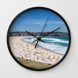 Bondi Beach lookng north to Ben Buckler Wall Clock