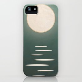 Ocean Moon: Tranquil Night  iPhone Case