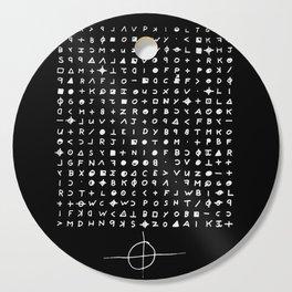 Zodiac killer Cutting Board