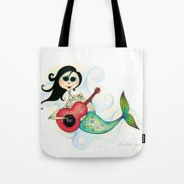 Sirenita Cucurumbe - Dia de los Muertos - Mermaid Tote Bag