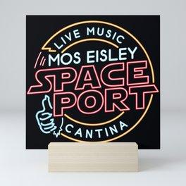 MOS EISLEY SPACE PORT Mini Art Print
