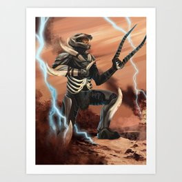 Primal Master Chief  Art Print