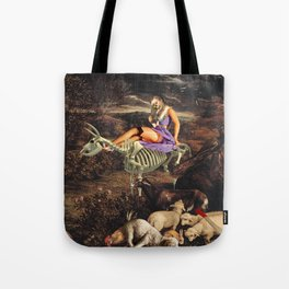 Us and the Animals Tote Bag