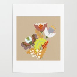 Dreaming Flowers Poster