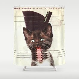 Slave To Kitty Shower Curtain