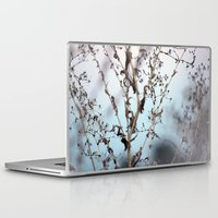 poem Laptop & iPad Skins featuring poem building by Sarah E. Roy