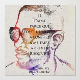 For Jou Canvas Print